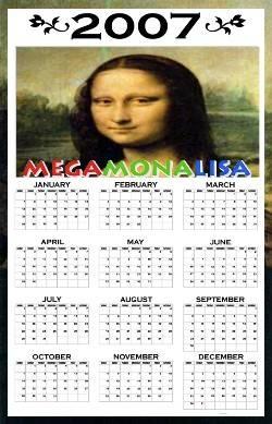 2007 Mona's calendar