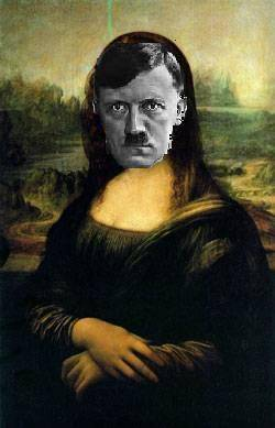 adolf hitler mona lisa
