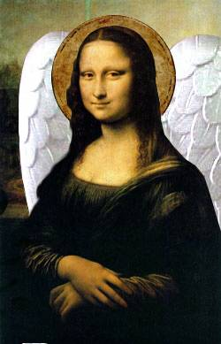 Angelic Mona Lisa