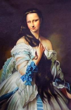 Antebellum Mona Lisa