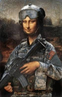 Army Mona Lisa
