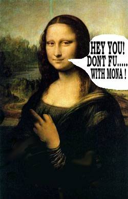 Bad Mona Lisa