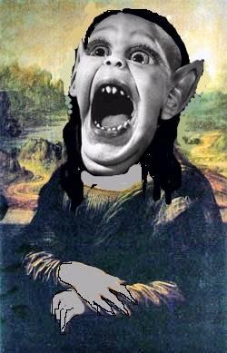 Batboy Mona Lisa