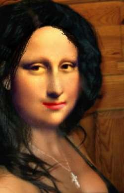 Beautiful Mona Lisa