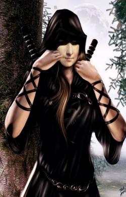 Black Ninja Mona Lisa
