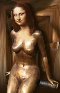 bronze mona 3