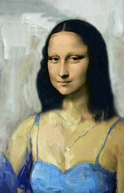 Contemporary Mona Lisa