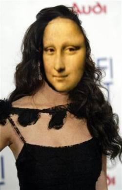 Copypasteface Mona Lisa