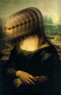 Cracked Mona