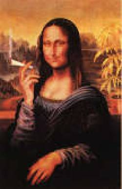 crazy mona lisa