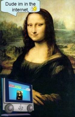 Cyber Mona Lisa