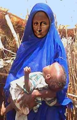 Darfur Mona Lisa