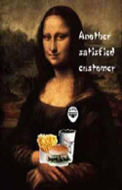 Eating Mona Lisa