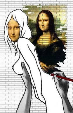 Exquise esquisse Mona