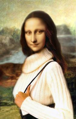 Fashionable Mona Lisa