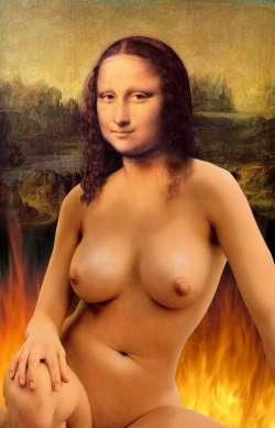 fiery mona