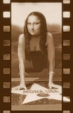 film star Mona Lisa 2