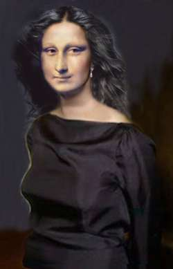 Gioconda in the Dark