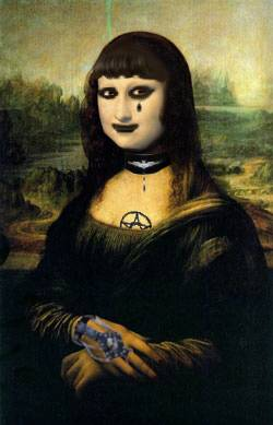Goth Mona Lisa