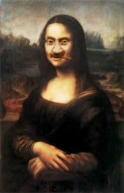 Grouchogandhi Lisa