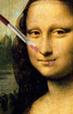 Herpes Mona Lisa (edited by Leo)