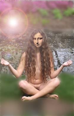 hippie mona