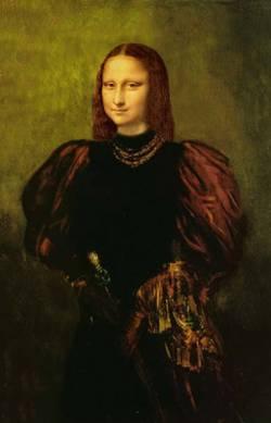 Historic Mona Lisa