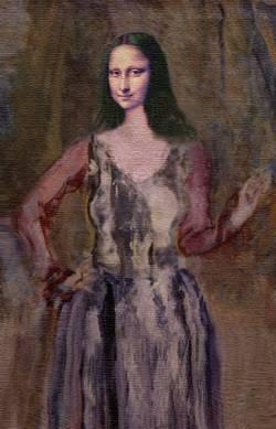 Impressionistic Mona Lisa