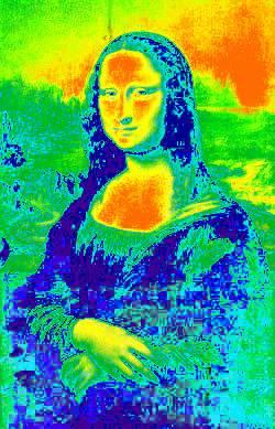 Infrared Mona