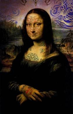 Inked Mona