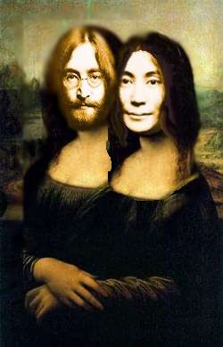 John and Yoko Lisa