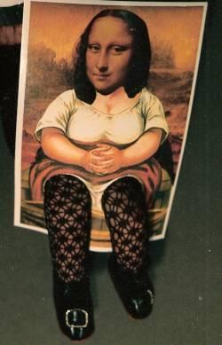 les gambettes de Mona