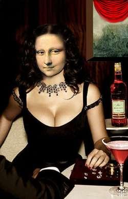 Lisa at the Bar