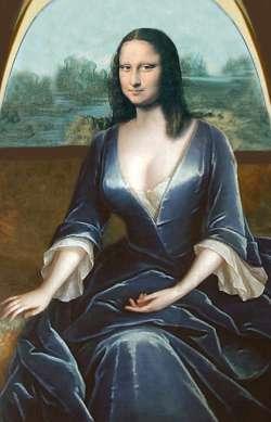 Lisa in Blau
