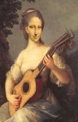 Lisa play guitar