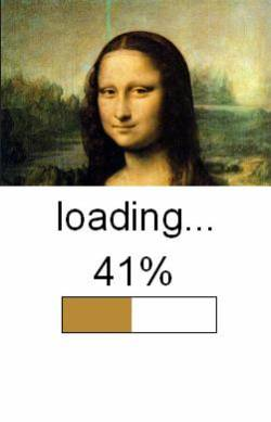 Loading Mona Lisa