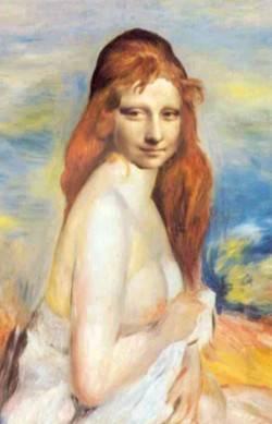 Mademoiselle Lisa montre ses seins !!