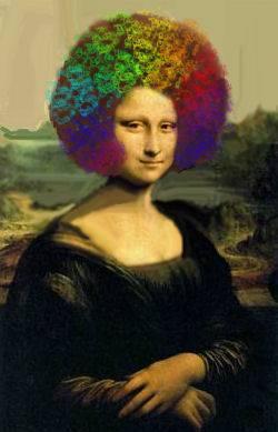 mardi gras rainbow mona