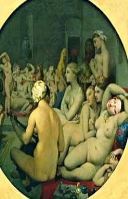 Miss Lisa et ses copines au bain.