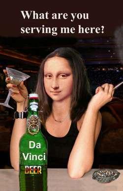 ML Drinking beer