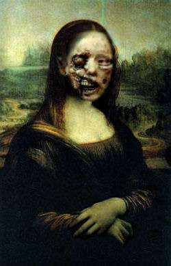 Mona 5 hundred years later...