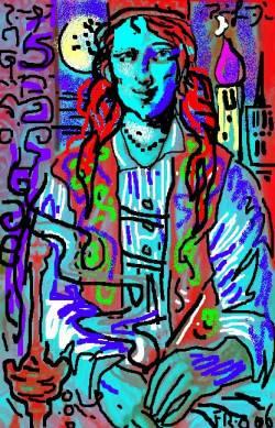 Mona\Aladin ,spy in Damasco