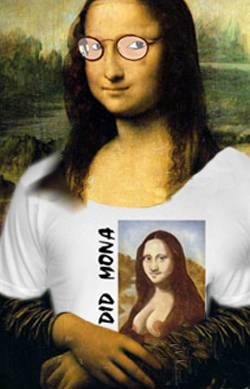 mona and her new shirt