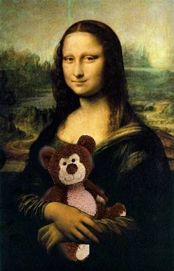 Mona and teddy