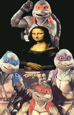 mona and the ninja turtles