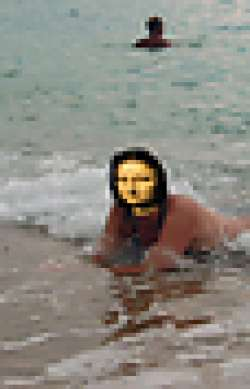 Mona and the sea