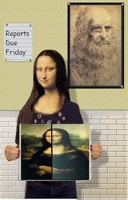 Mona at school
