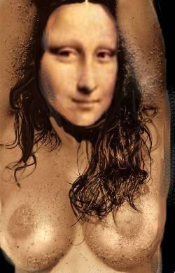 mona boobs