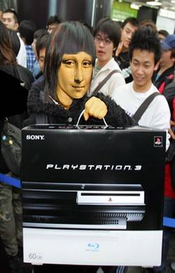 Mona buys a PS3