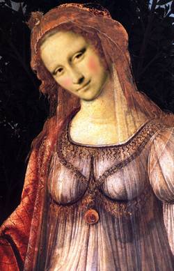 mona by another italian painter
